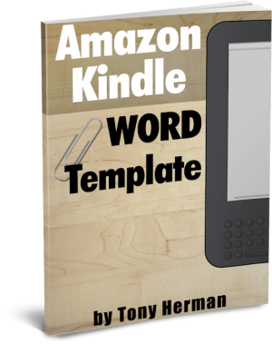 Kindle PDF Manuscript Template