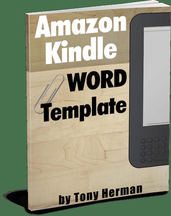 Kindle PDF Manuscript Template