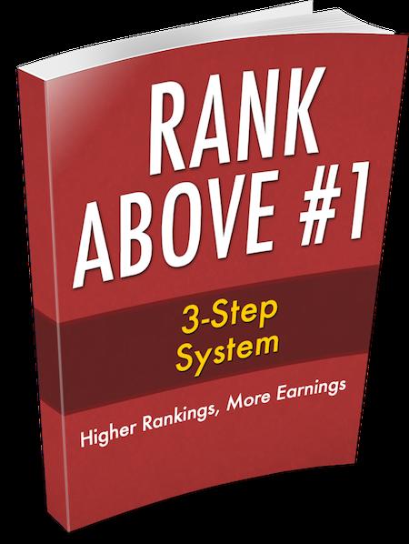 Rank Above #1: 3-Step System